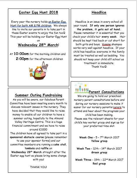 March Nur Newsletter 1
