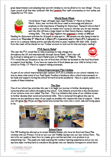 Feb Newsletter 2