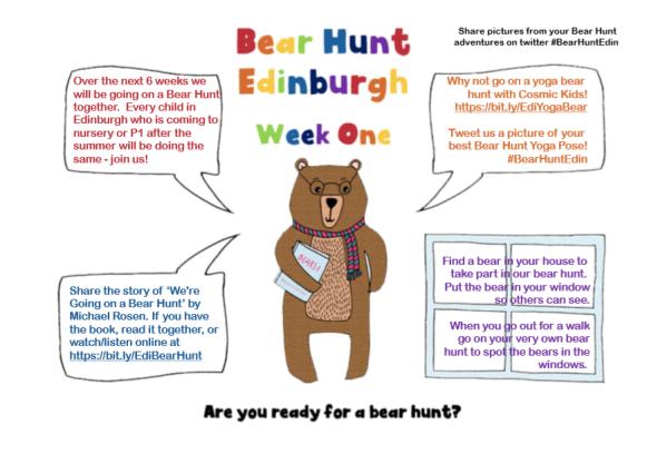 Bear Hunt week 1