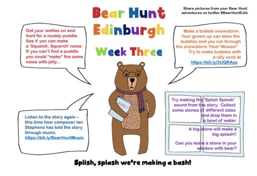 Bear hunt week 3